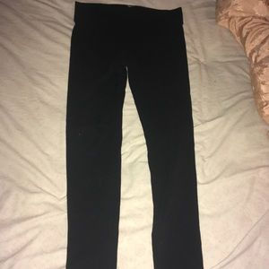 Victoria's Secret black leggings (small)